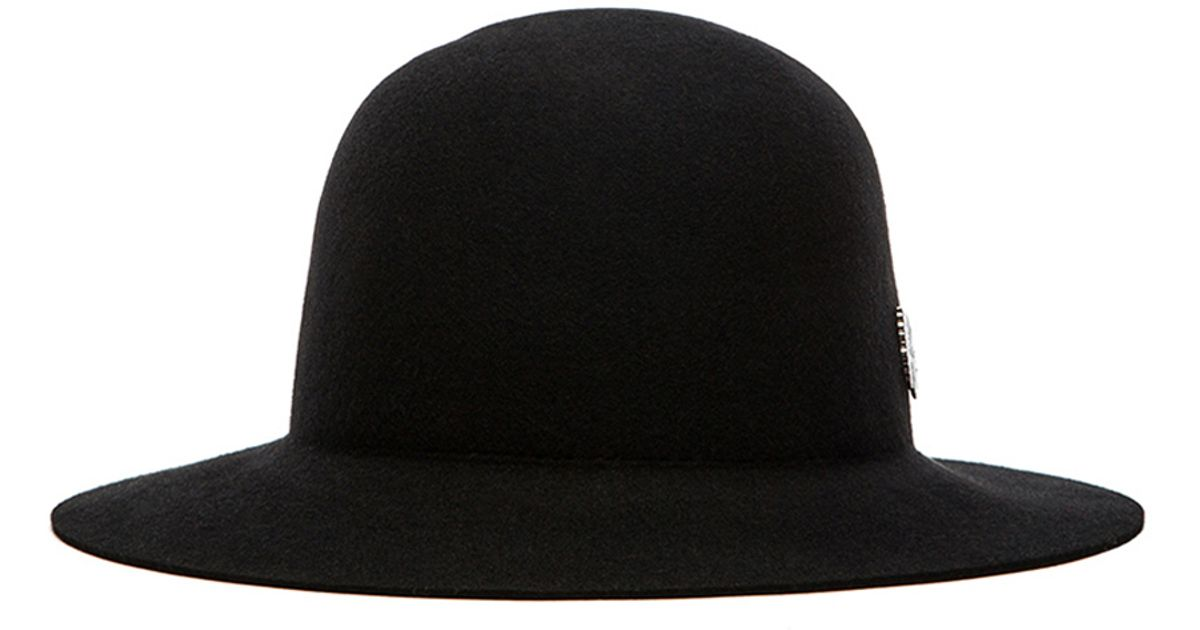 3fbab29fd550c8 ... order lyst brixton cason top hat in black for men 830cb dea6f