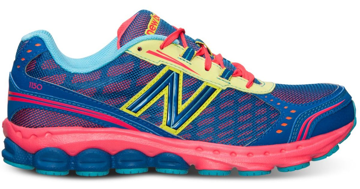 famous brand classcic exquisite craftsmanship New Balance Blue Women'S 1150 Running Sneakers From Finish Line