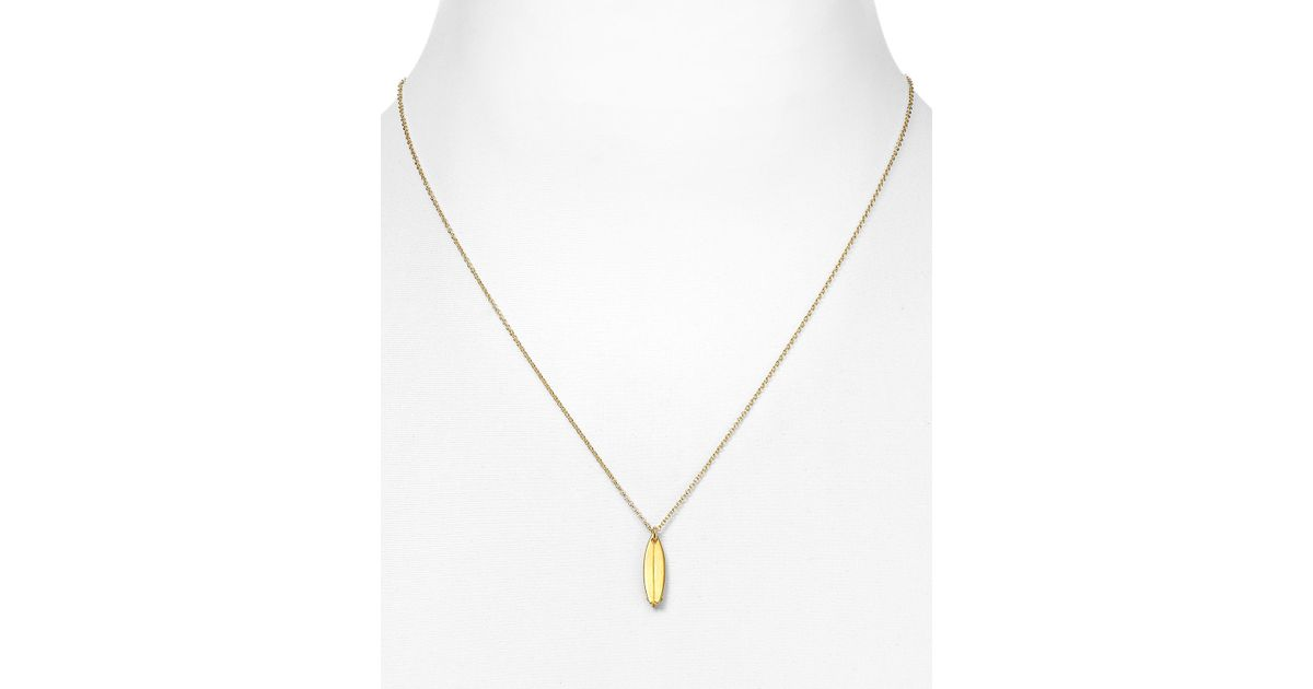 Dogeared Surf S Up Necklace 18 In