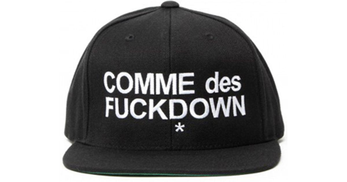 Comme de fuck down