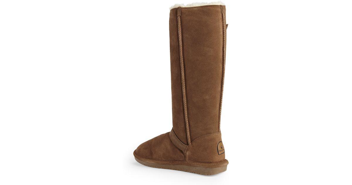 c8b7c633265 BEARPAW Brown Hickory Johanna Tall Boots
