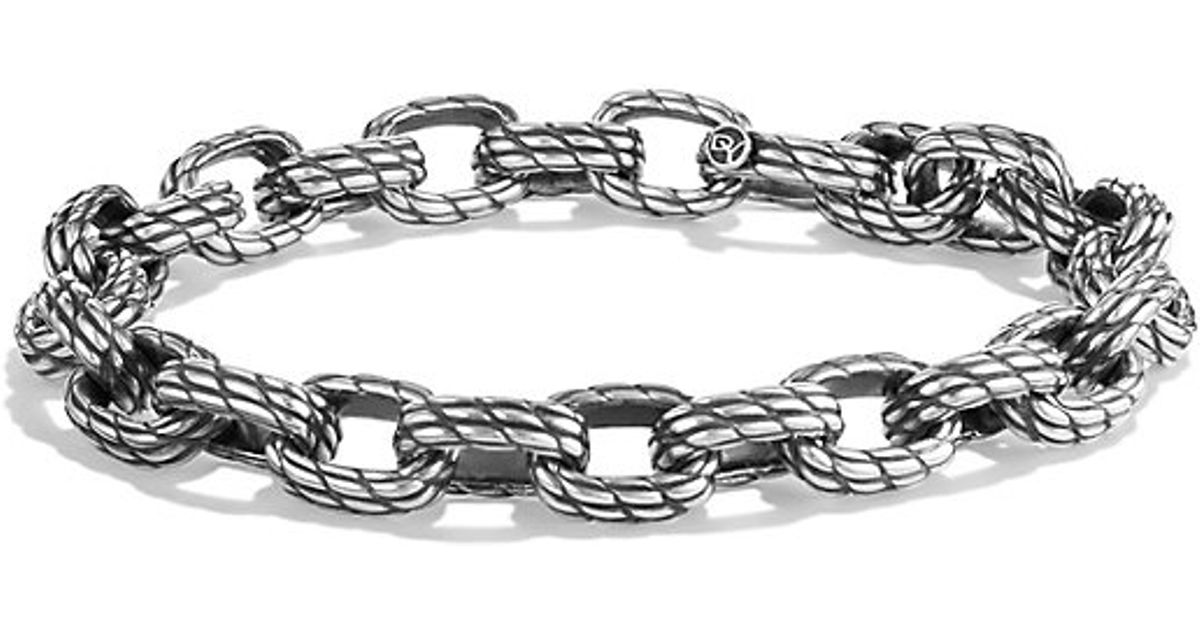 David Yurman Maritime Rope Medium Link Bracelet In Metallic For Men Lyst