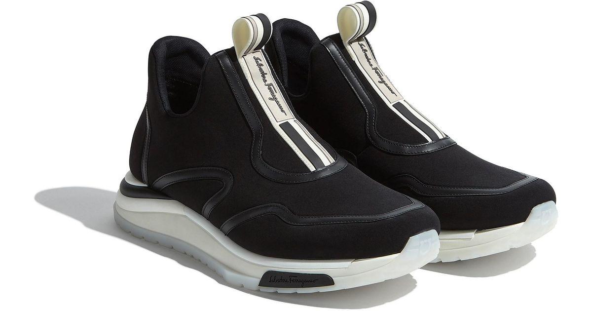 811d4060e53 Lyst - Ferragamo Rainbow Sneaker in Black for Men