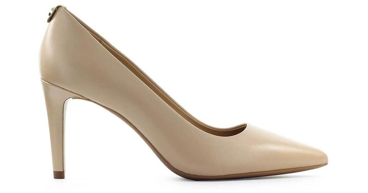 Anne Klein Flex Size 8.5 Womens Nude Black Bow Leather