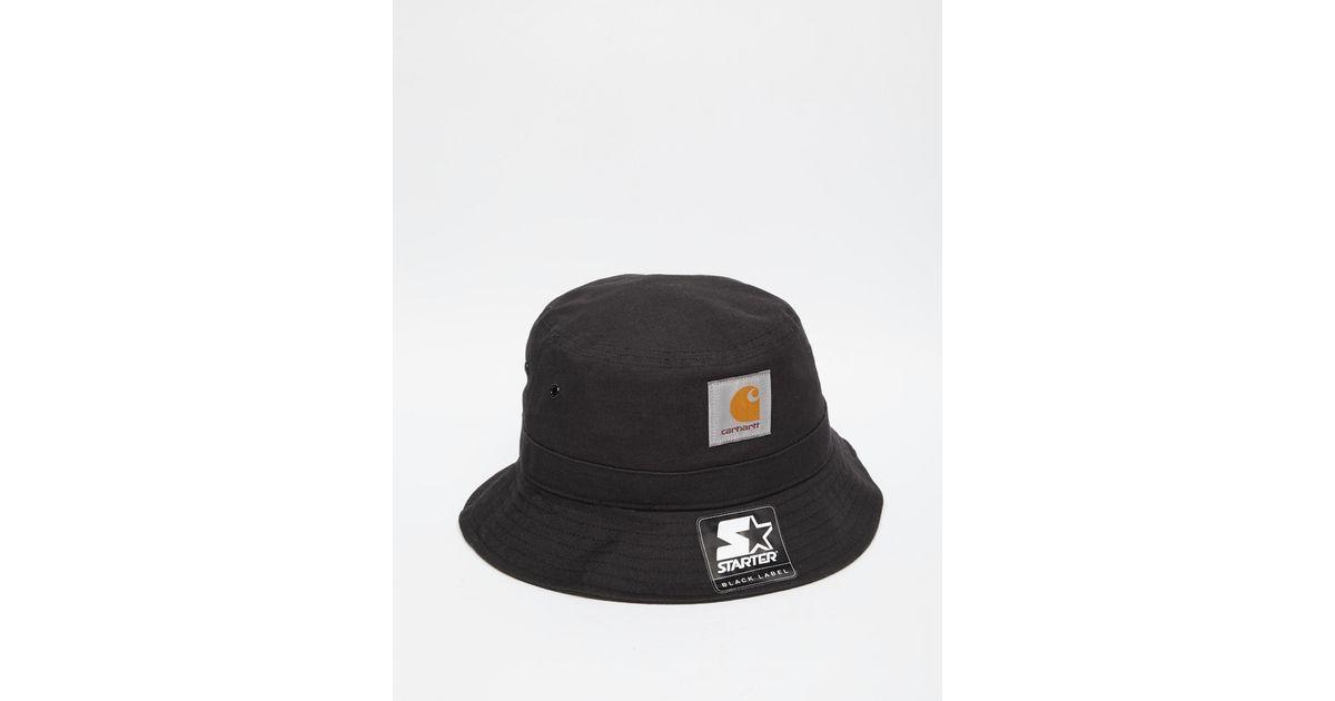 97eedb61a01 Lyst - Carhartt WIP Carhartt Watch Bucket Hat in Black for Men