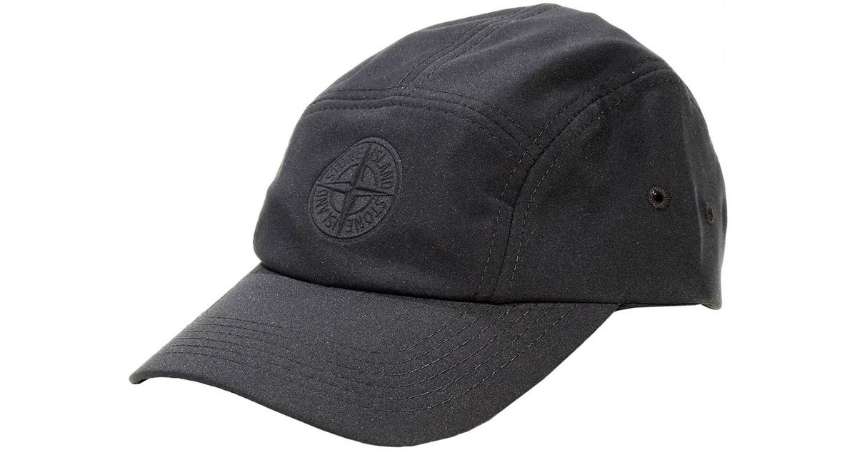 stone island black baseball cap - Garden House Lazzerini c9f18d2cac96