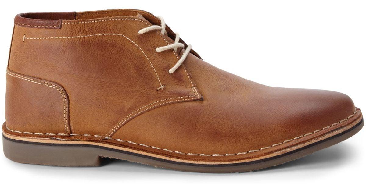 822424af530 Steve Madden Brown Tan Hestonn Chukka Boots for men