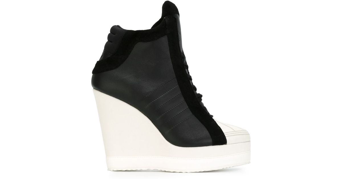 Black Hi Adidas Sneakers Top Wedge Originals 31cTlFKJ