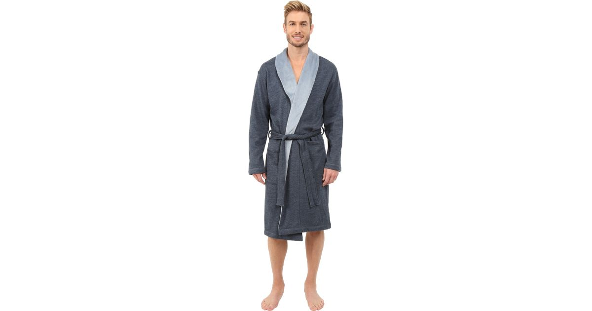 Lyst - UGG Robinson Robe in Blue for Men b9ab83b22