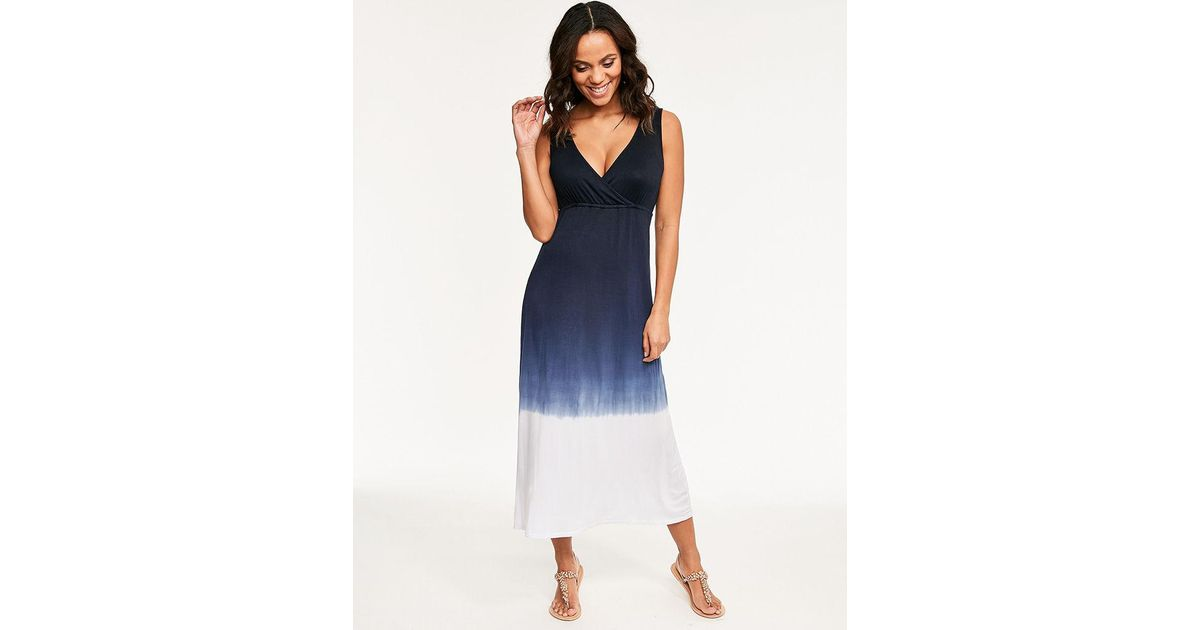296b125dede2b Fantasie Aurora Dress in Blue - Lyst