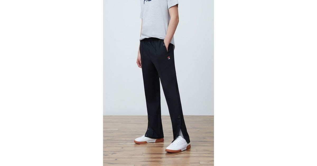 5a975bc194 Fila - Black Manolito Slim Leg Pant for Men - Lyst