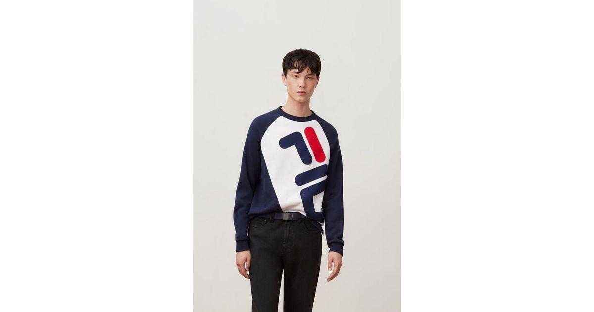 9881d97fa3cf Lyst - Fila Emmett Sweatshirt in Blue for Men