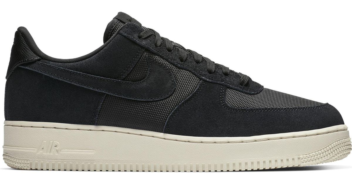 cute detailed pictures new photos Nike Air Force 1 '07 1 Low-cut Sneakers, Black/black/pale Ivory for men