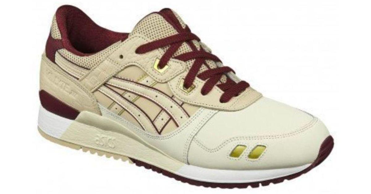 wholesale dealer 16f0a c1d8b Asics Natural Gel-lyte Iii Running Sneakers, Birch/beige for men