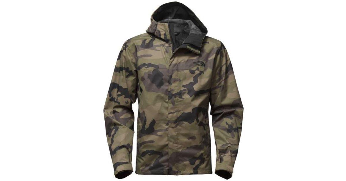 4080cbf5d The North Face Men Print Venture Jacket, Burnt Olive Green Sasquatch Camo  Print for men