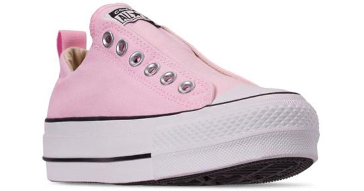 hot product superior performance choose original Converse Chuck Taylor All Star Platform Slip-on - Pink