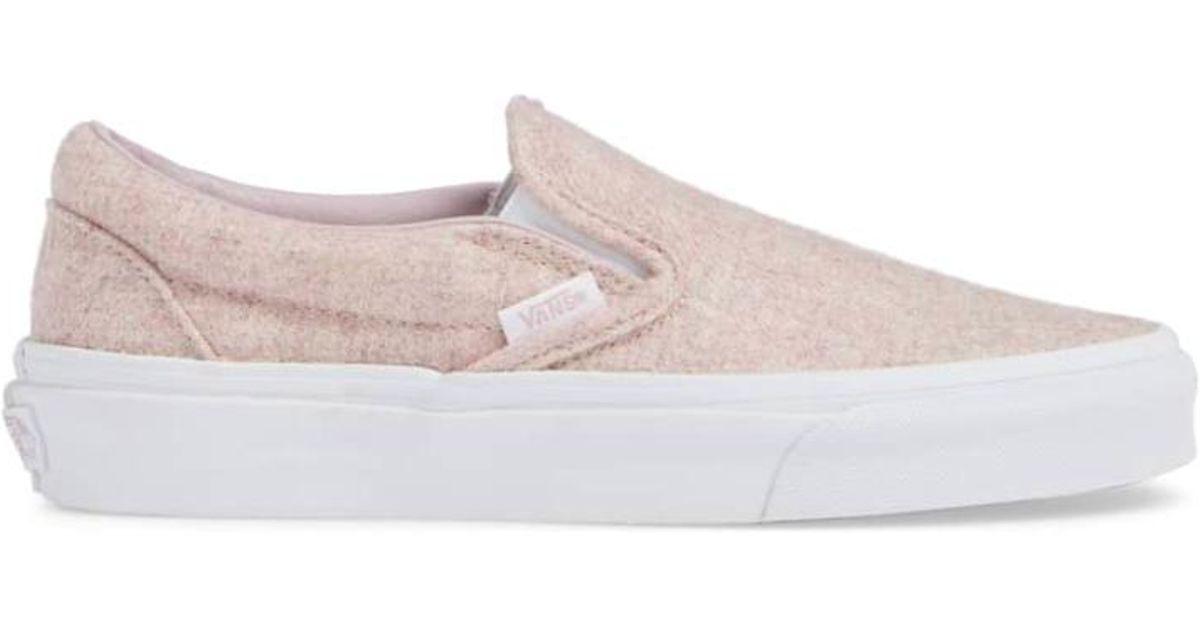 d9ff0f08c107 Lyst - Vans Women Classic Slip-on Sneakers