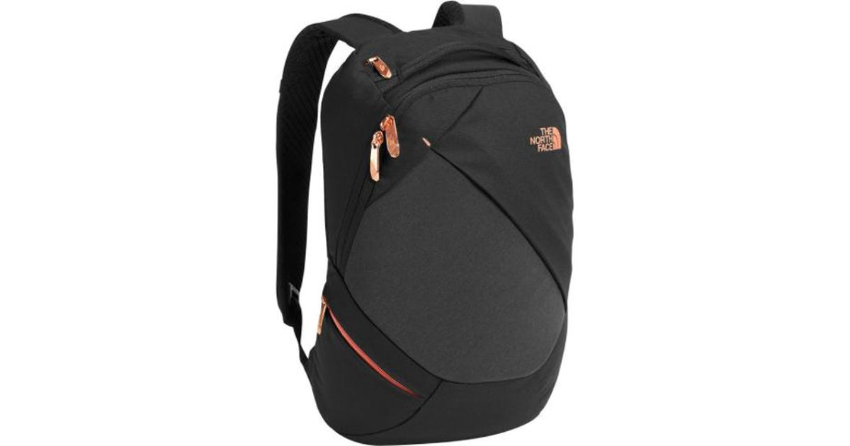 fdb10185d The North Face Women Electra Backpack, Tnf Black Heather/ Burnt Coral  Metallic