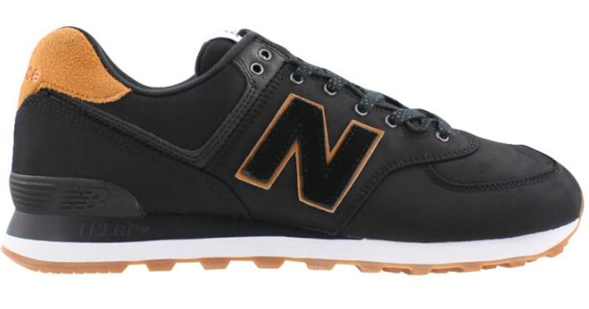 huge selection of 52bfe 3bd79 New Balance Classics Ml574bpa Sneakers, Black/brown for men