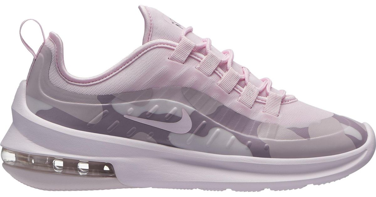 wholesale dealer 725af 268cf ... canada lyst nike air max axis premium sneakers pale pink pink foam  black in pink 5b78e