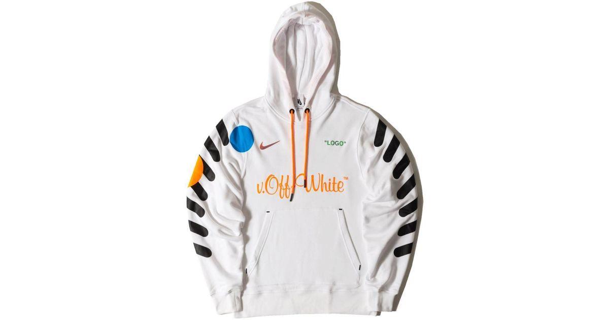 off white nike hoodie