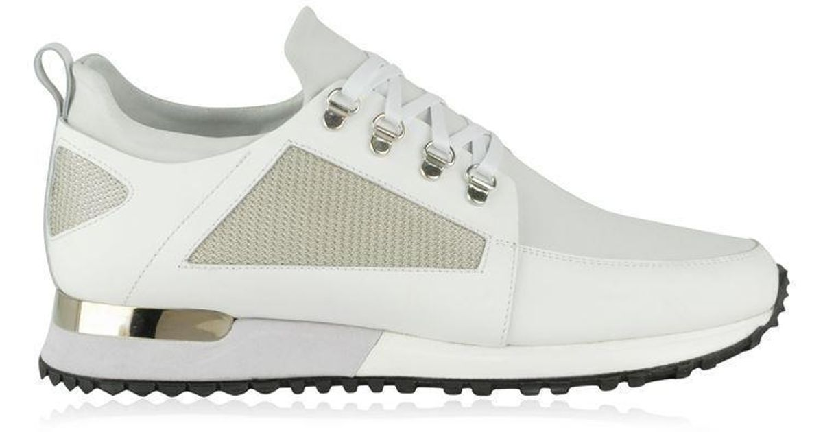 Mallet Leather Hiker Eyelet Trainers in