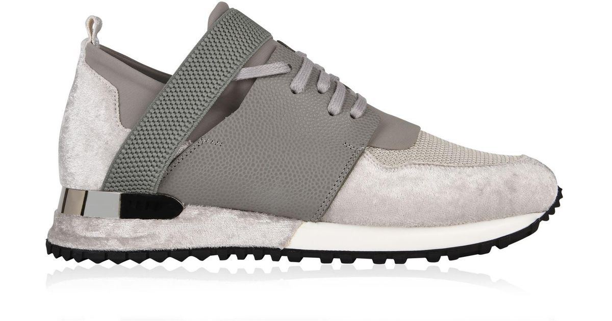7344e8482d51 Lyst - Mallet Low Top Elast Trainers in Gray
