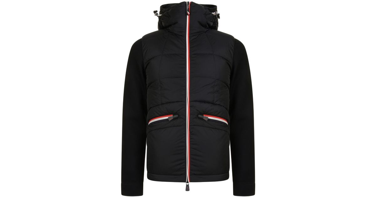65bc495e8bb4 get lyst moncler grenoble quilted neo jacket in black for men 0338e 5dcb0