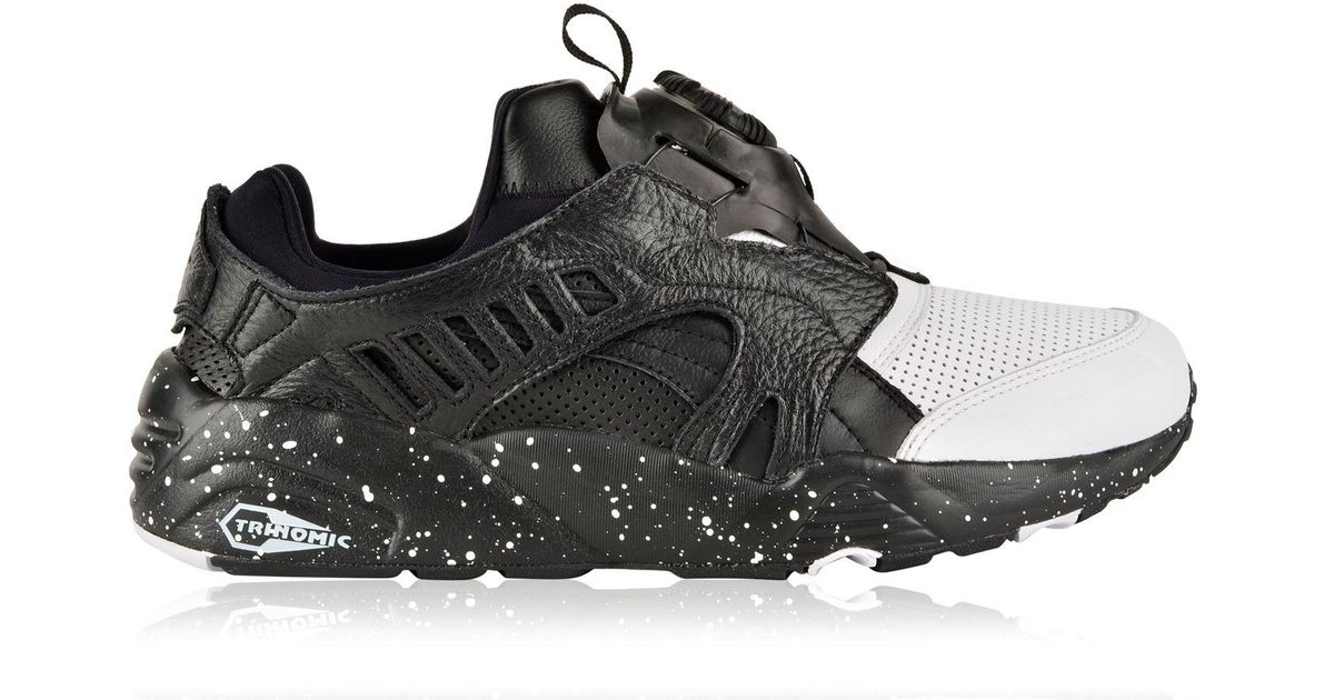 4414f0f96047 Lyst - PUMA Disc Blaze Frost Trainers in Black for Men