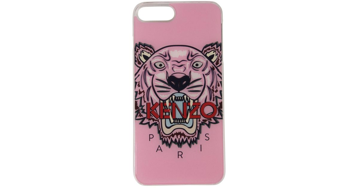 official photos a456f dbdd9 KENZO Pink Coque Iphone 7/8 Plus Case