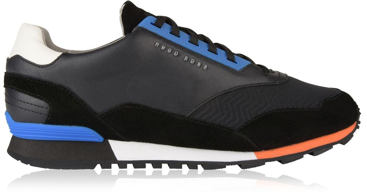 BOSS Athleisure Leather Zephir Trainers
