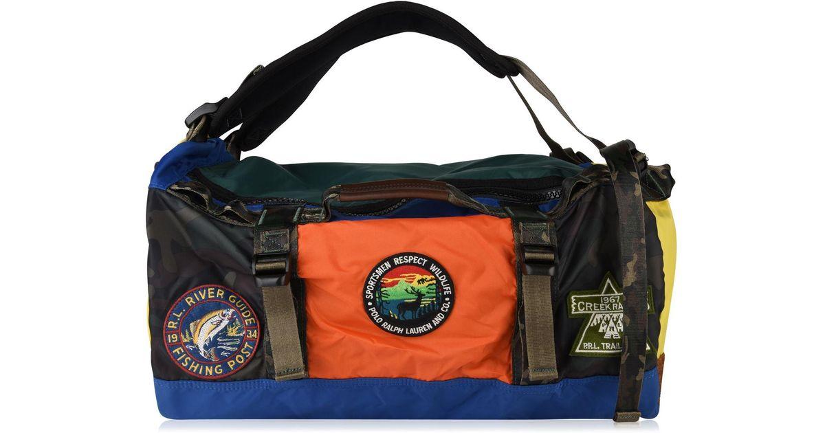 Ralph Duffel Polo Sportsmen Lauren Multicolor Backpack 1Jc3lFTK