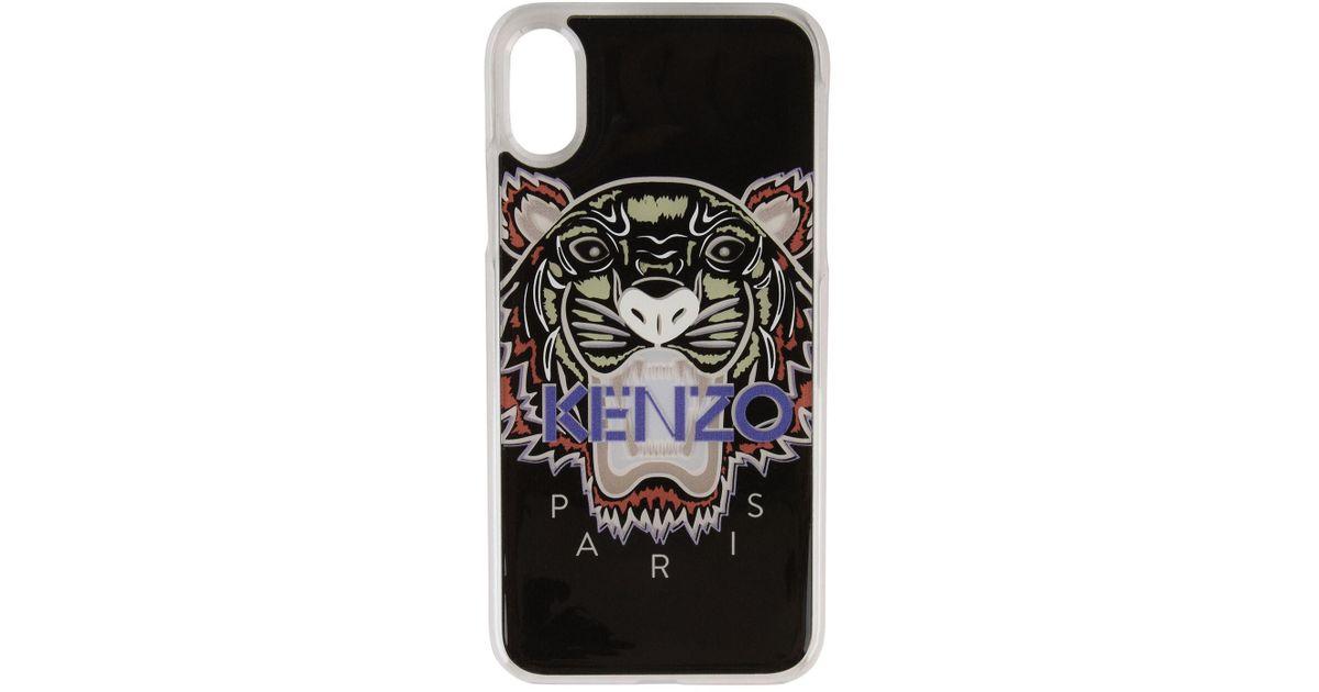 e0365158 KENZO Multicolor Tiger Iphone X Case
