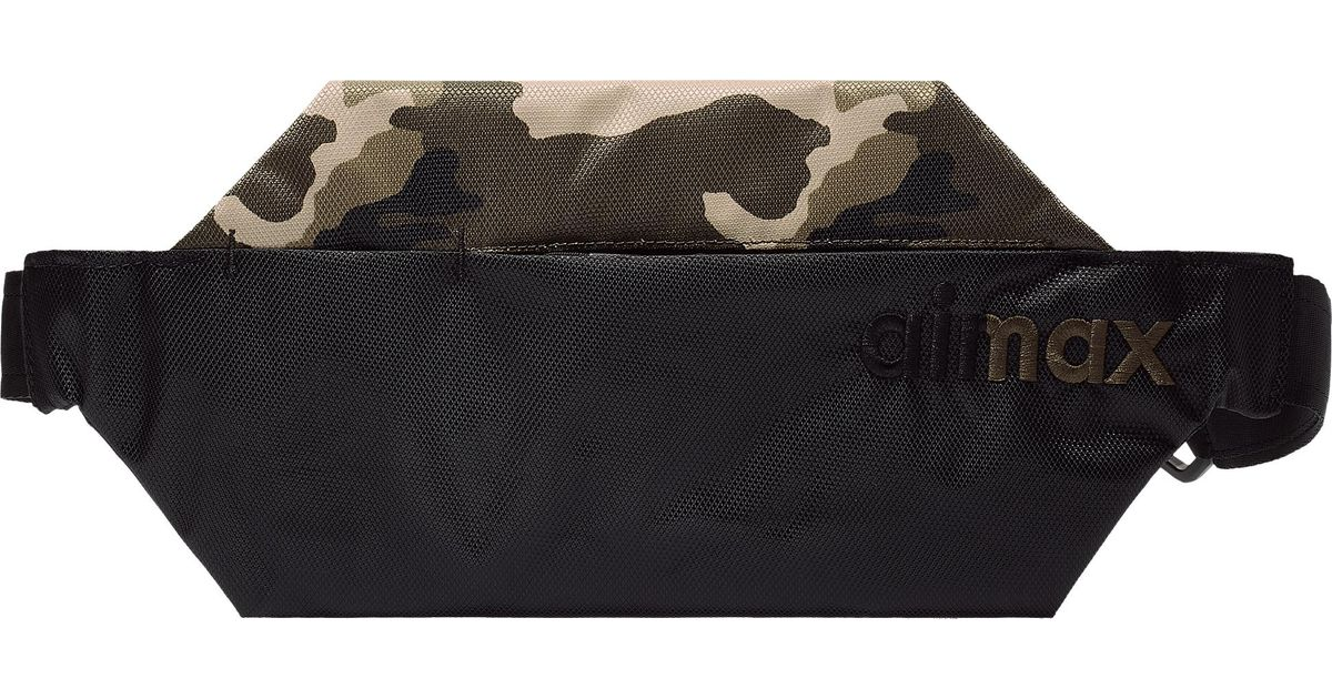 Nike Synthetic Air Max Camo Waist Pack
