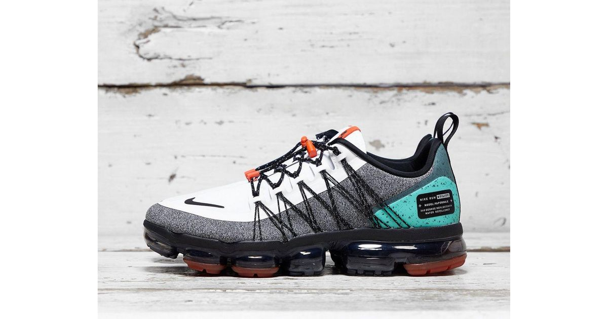 sports shoes 990e3 73f1a Nike White Air Vapormax Run Utility Sneakers for men