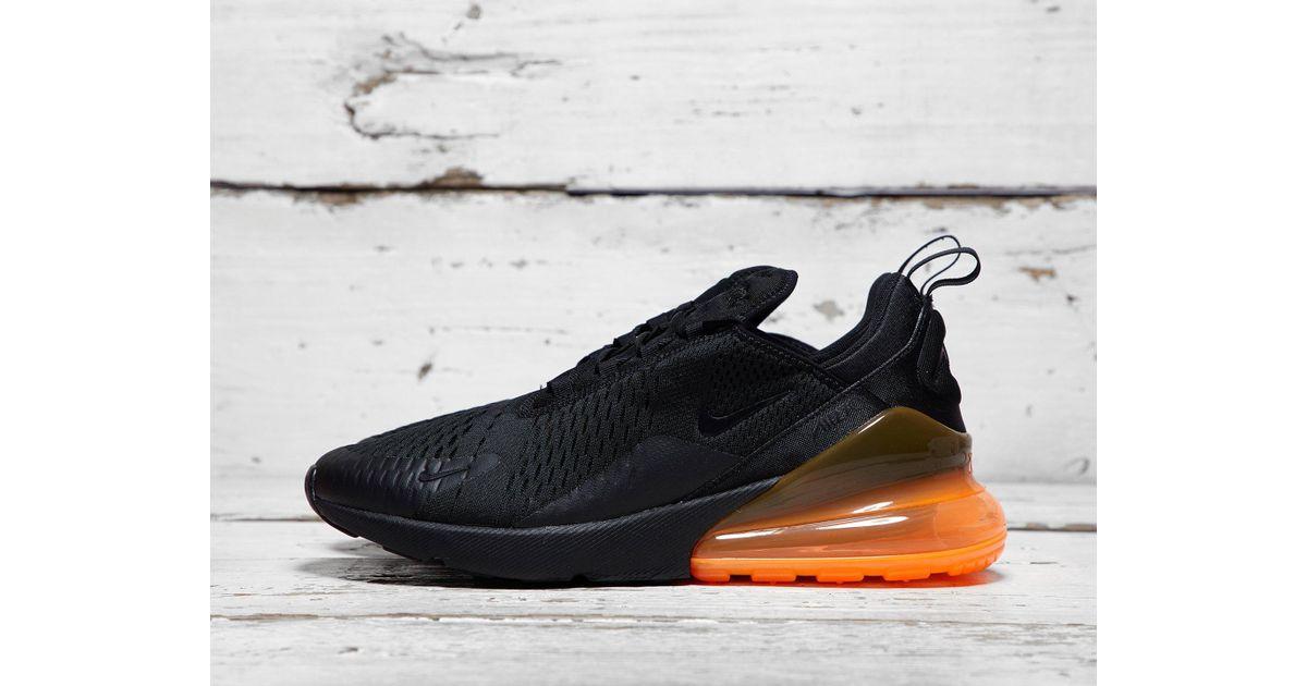 0411922b41df4e Lyst - Nike Air Max 270 in Black for Men