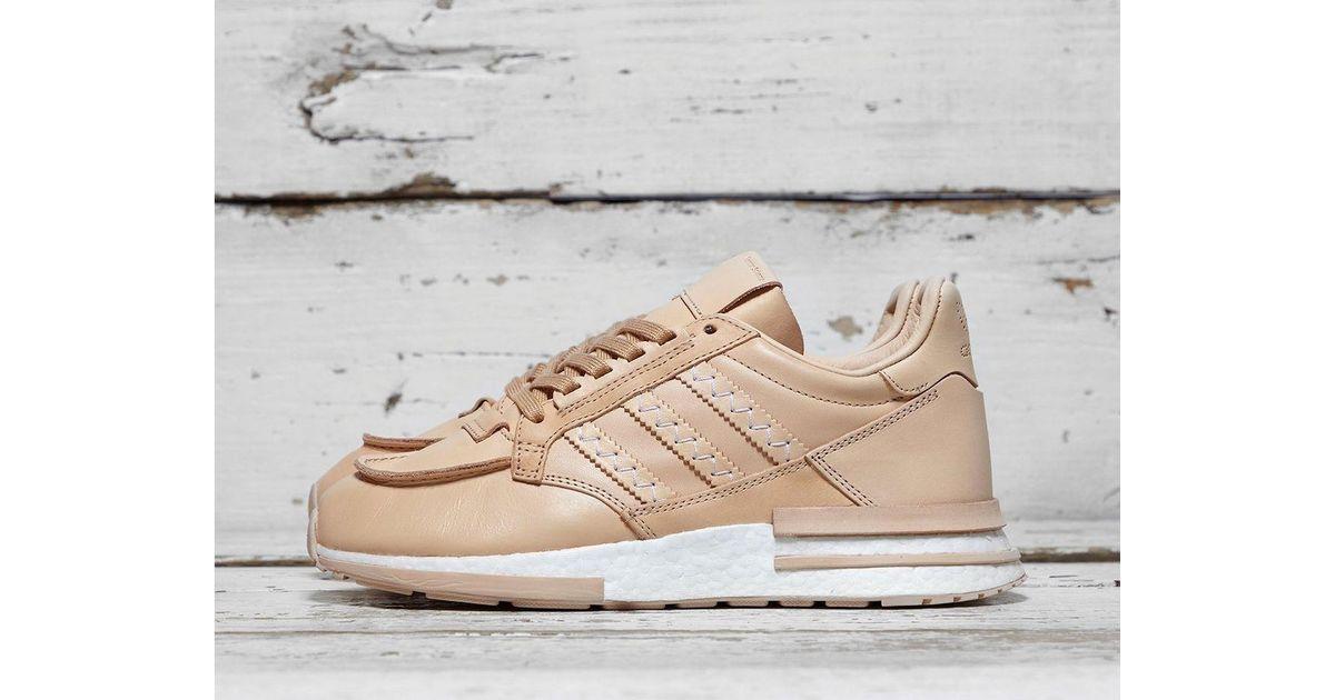 hot sale online dd464 c66c1 Adidas Originals Brown X Hender Scheme Zx 500 Rm Fl for men