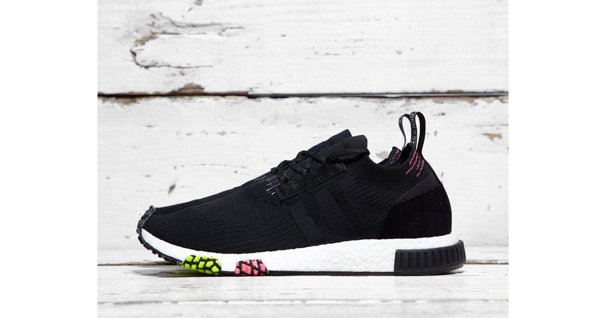 Adidas Originals Black Nmd Racer Primeknit for men