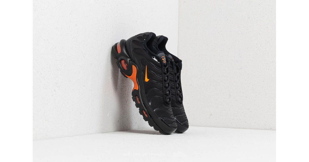 new styles bcbe6 05f62 Nike Air Max Plus Tn Se Black/ Total Orange for men