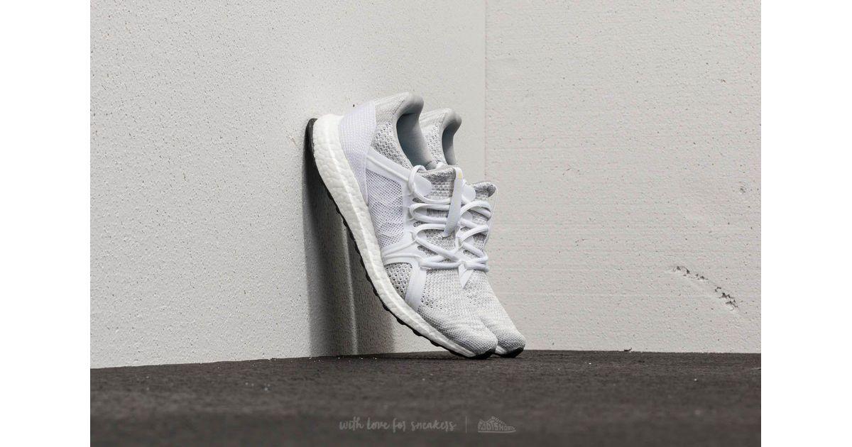 a1efe703a9b Lyst - adidas Originals Adidas X Stella Mccartney Ultraboost Parley Stone   Core White  Mirror Blue in White