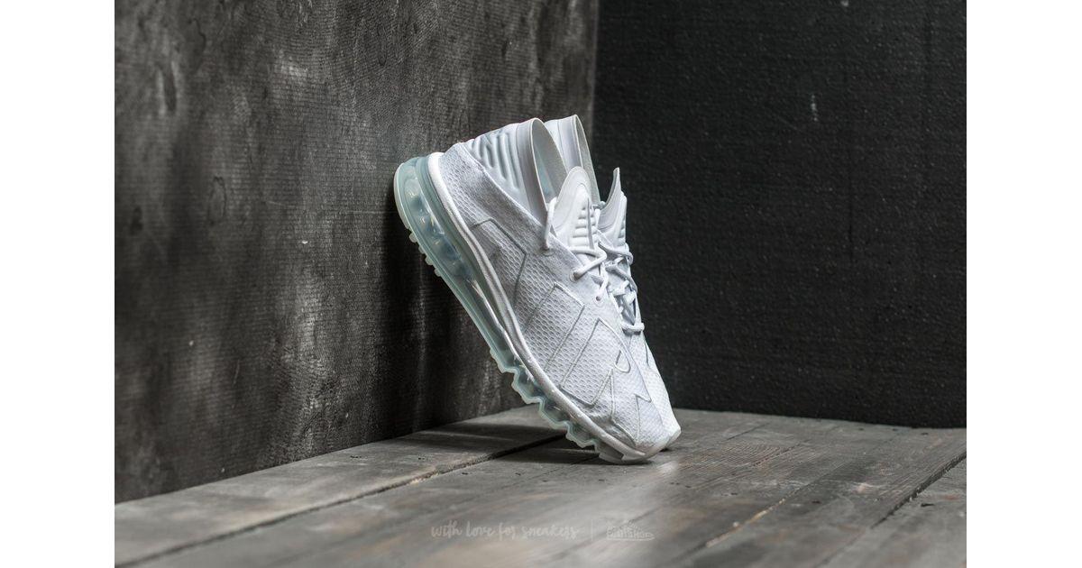 Nike Air Max Flair Men's Running Shoes White Pure Platinum