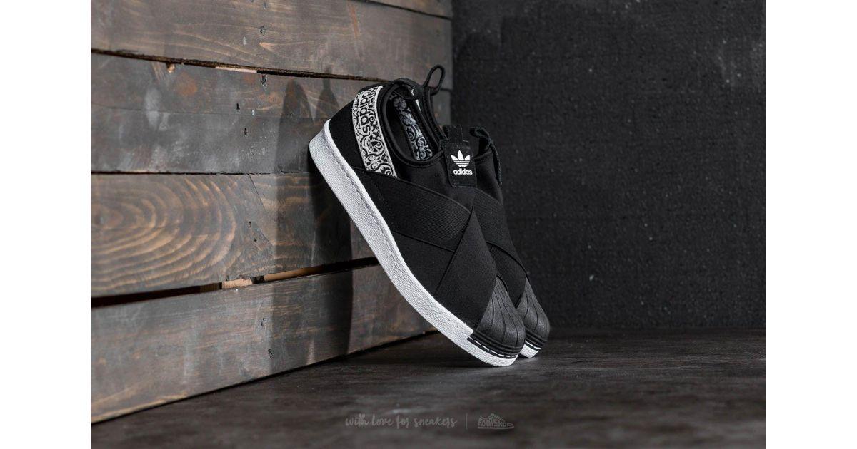 Adidas Originals Adidas Superstar Slip On W Core Black Ftw White