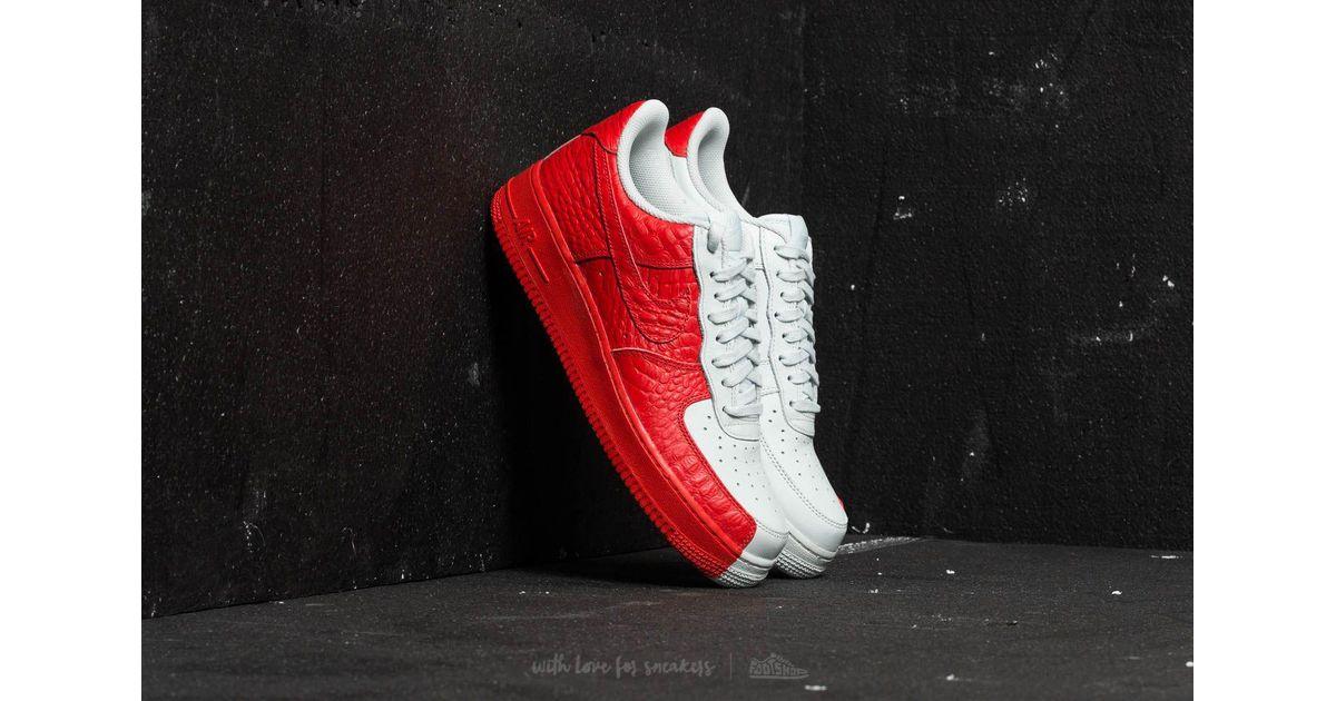 Lyst Nike Premium Air Force 1 '07 Premium Nike Apenas Gris  Habanero Rojo En Rojo 31b414