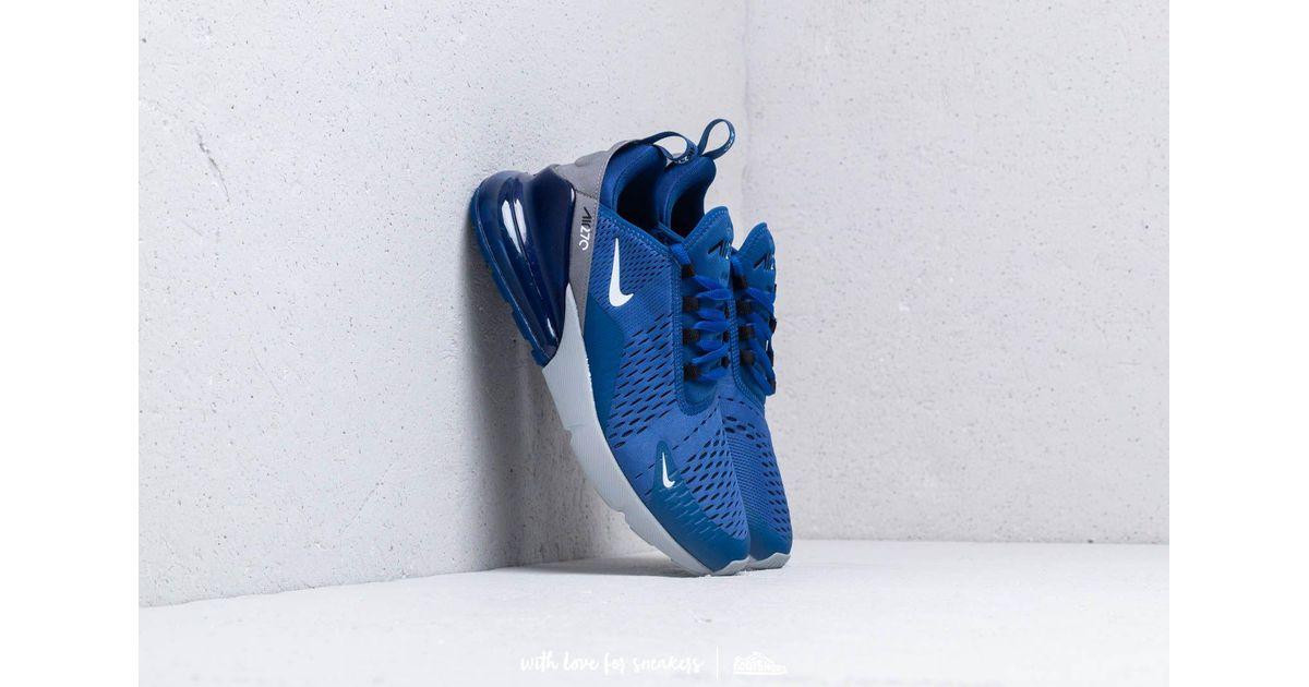 Nike Blue Air Max 270 Indigo Force/ White-wolf Grey for men