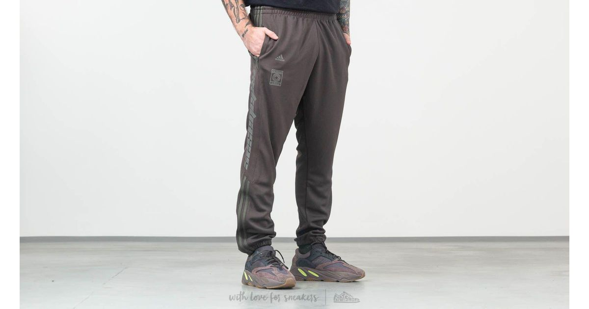 ed90e985bd3ac Lyst - adidas Originals Adidas Calabasas Track Pants Umber  Core in Gray  for Men