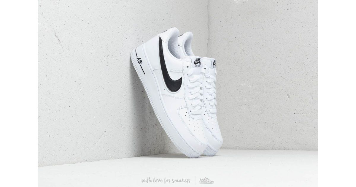 first rate 1d401 265cc Nike Air Force 1  07 3 White  Black in White for Men - Lyst