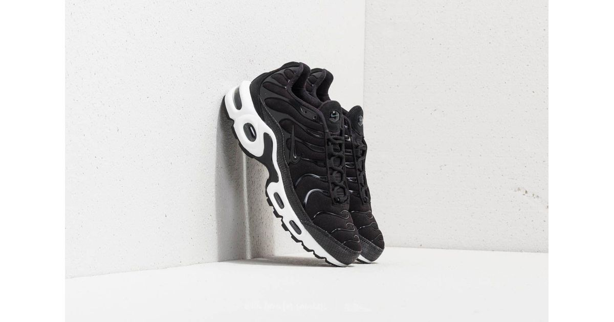 finest selection ea8c3 124a1 Nike Wmns Air Max Plus Premium Black/ Black-anthracite-white
