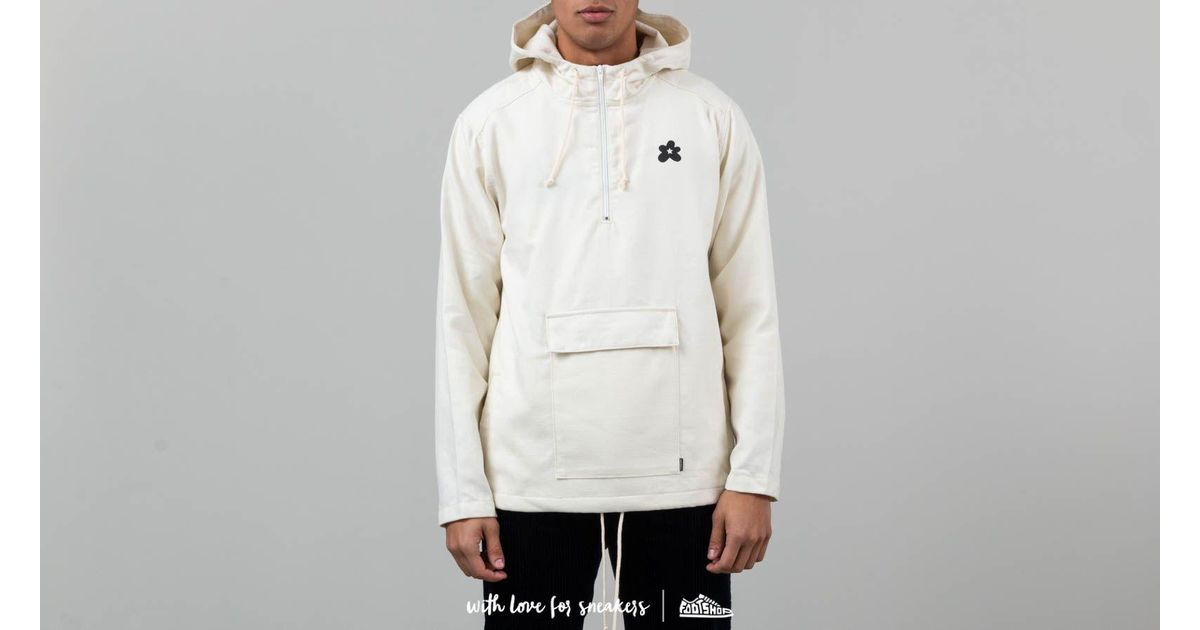26f860a83a818 Converse X Golf Le Fleur Anorak Jacket Cream White for men