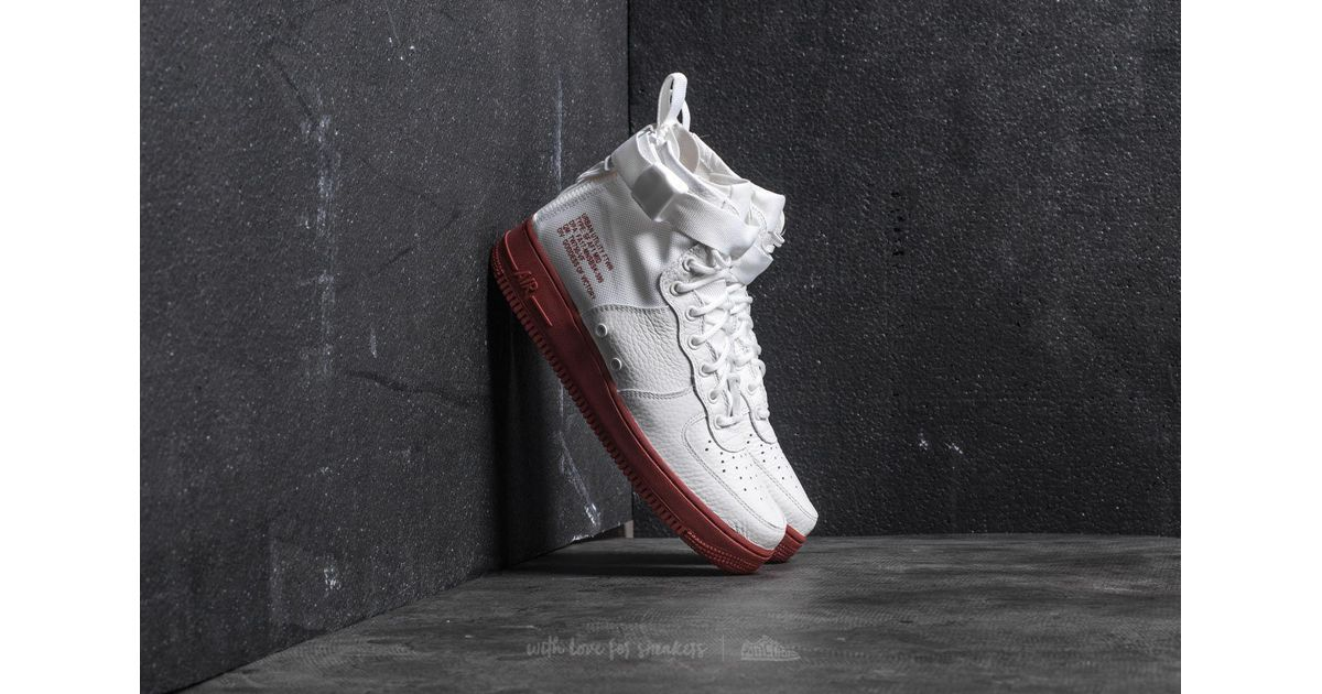Nike Multicolor Sf Air Force 1 Mid Ivory Ivory mars Stone for men