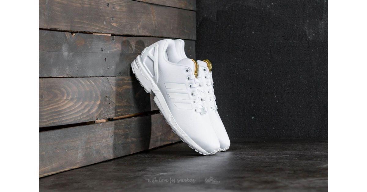 nett adidas Originals Adidas Zx Flux W Ftw White Ftw White Gold  Kostenloser Versand